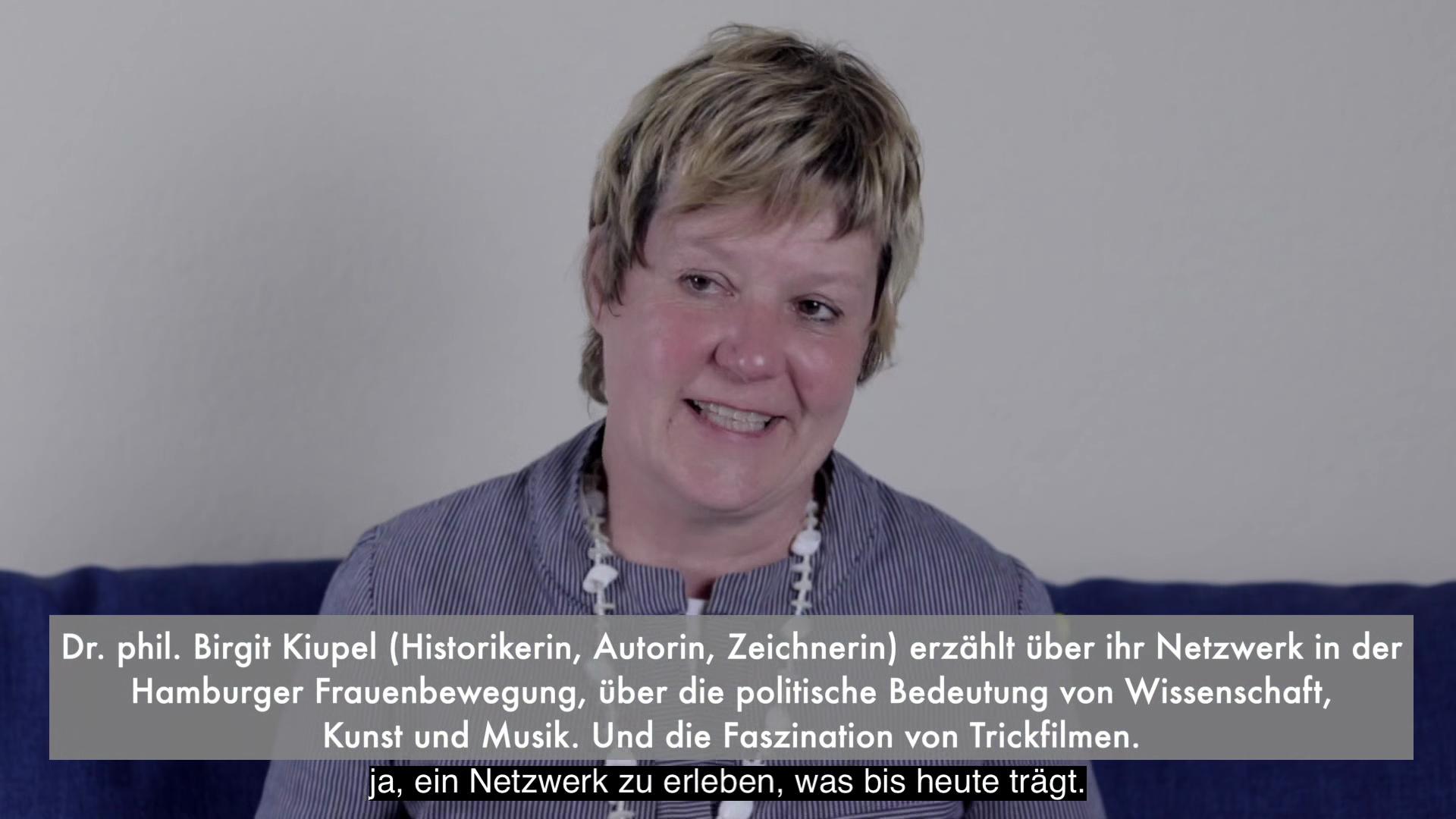 Video - Interview : Birgit Kiupel